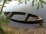 Barque sur la Dordogne